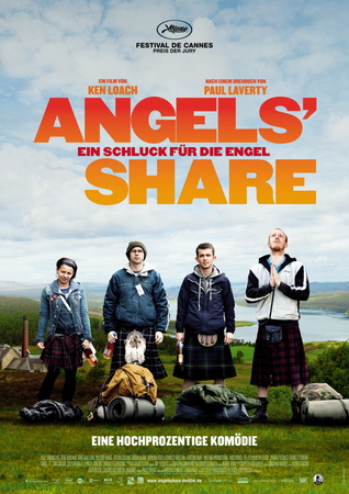 Filmplakat ANGELS' SHARE - engl. OmU