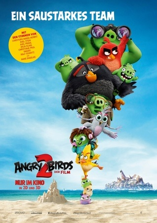 Filmplakat ANGRY BIRDS 2