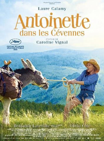 Filmplakat Mein Liebhaber, der Esel und ich - Antoinette dans les Cévennes - franz. OmU