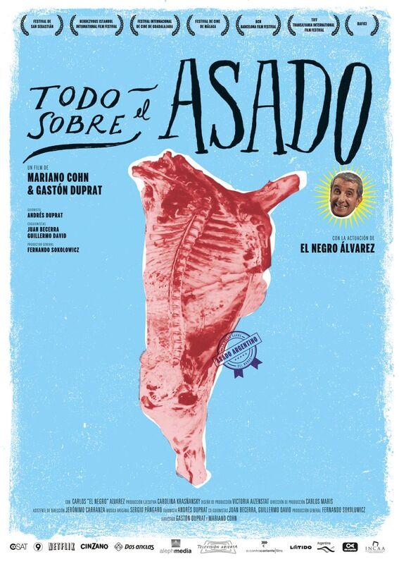 Filmplakat CINESPAÑOL: Asado, mein Lieblingsgericht aus Argentinien - TODO SOBRE EL ASADO - span. OmU