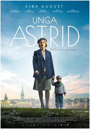 Filmplakat ASTRID - Unga Astrid - schwed. OmU