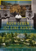 Filmplakat Auch Leben ist eine Kunst - Der Fall Max Emden