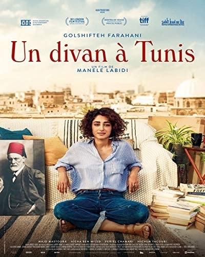 Filmplakat Auf der Couch in Tunis - UN DIVAN À TUNIS -franz. OmU