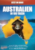 Filmplakat Australien in 100 Tagen