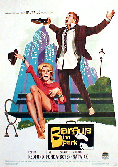 Filmplakat Barfuß im Park