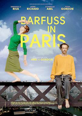 Filmplakat Barfuss in Paris - PARIS PIEDS NUS - franz. OmU