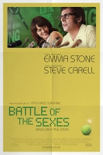 Filmplakat BATTLE OF THE SEXES - engl. OmU