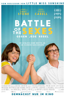 Filmplakat BATTLE OF THE SEXES - Gegen jede Regel