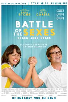 Filmplakat BATTLE OF THE SEXES - Gegen jede Regel