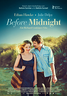 Filmplakat BEFORE MIDNIGHT - engl. OmU