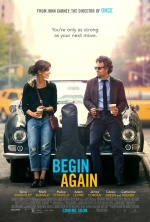 Filmplakat CAN A SONG SAFE YOUR LIFE? - BEGIN AGAIN - engl. OmU