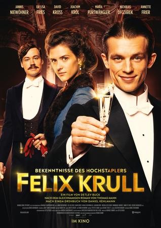 Filmplakat Bekenntnisse des Hochstaplers Felix Krull