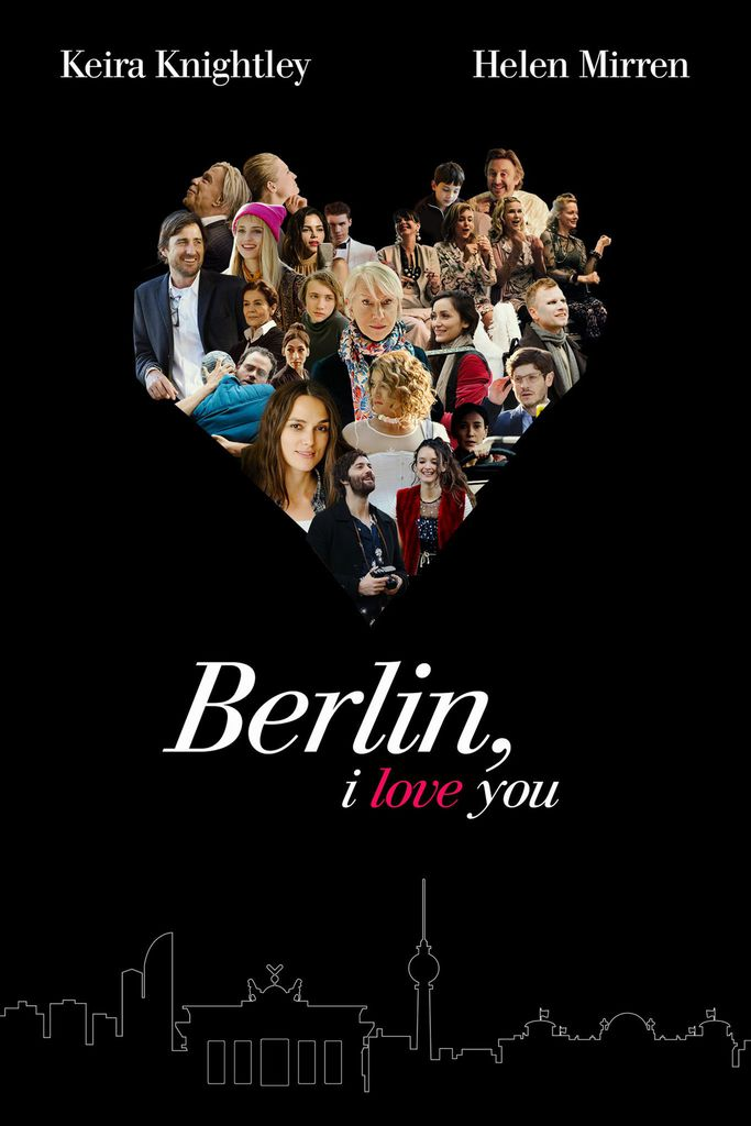 Filmplakat BERLIN I LOVE YOU