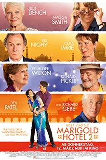 Filmplakat BEST EXOTIC MARIGOLD HOTEL 2