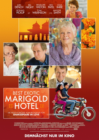 Filmplakat BEST EXOTIC MARIGOLD HOTEL