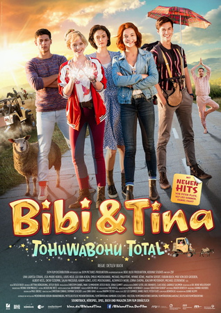 Filmplakat Bibi & Tina - Tohuwabohu total!