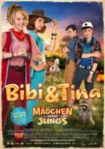 Filmplakat Bibi & Tina - Mädchen gegen Jungs