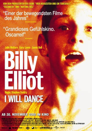 Filmplakat BILLY ELLIOT - I WILL DANCE