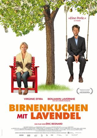 Filmplakat Birnenkuchen mit Lavendel