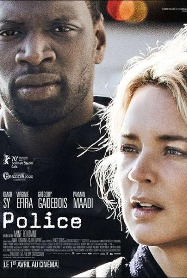 Filmplakat Bis an die Grenze - POLICE - franz. OmU