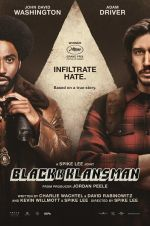Filmplakat BLACKkKLANSMAN - engl. OmU