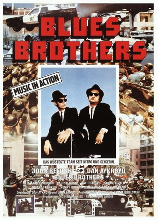 Filmplakat BLUES BROTHERS - engl. OF