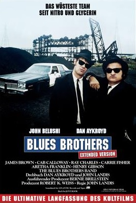 Filmplakat BLUES BROTHERS - EXTENDED VERSION