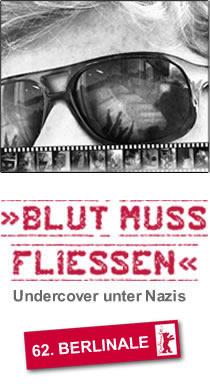Filmplakat BLUT MUSS FLIESSEN - Undercover unter Nazis
