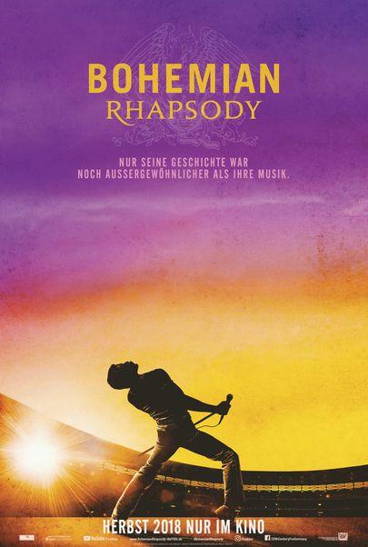 Filmplakat Bohemian Rhapsody - engl. OmU