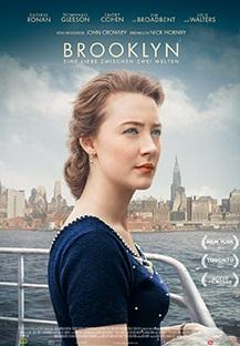 Filmplakat BROOKLYN - Eine Liebe zwischen zwei Welten