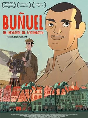 Filmplakat BUÑUEL IM LABYRINTH DER SCHILDKRÖTEN