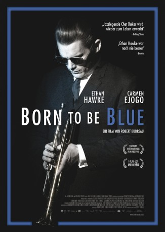 Filmplakat Born to be Blue - engl OmU