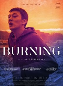 Filmplakat BURNING