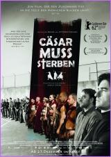 Filmplakat CÄSAR MUSS STERBEN - Cesare deve morire - ital. OmU