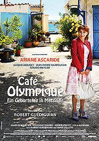 Filmplakat Café Olympique - Ein Geburtstag in Marseille