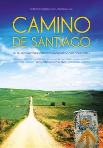 Filmplakat CAMINO DE SANTIAGO - Eine Reise auf dem Jakobsweg