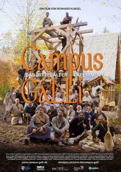 Filmplakat Campus Galli - das Mittelalter Experiment