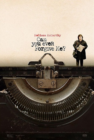 Filmplakat CAN YOU EVER FORGIVE ME? - engl. OmU
