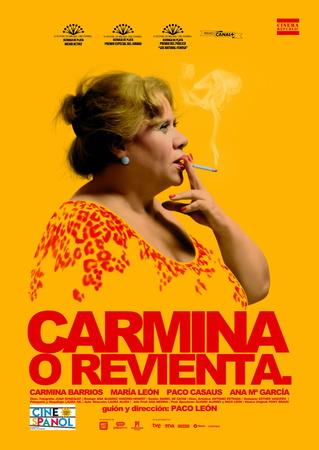 Filmplakat CARMINA O REVIENTA - span. OmU