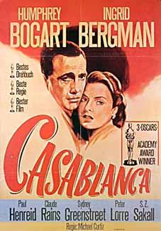 Filmplakat CASABLANCA (engl. OmU)