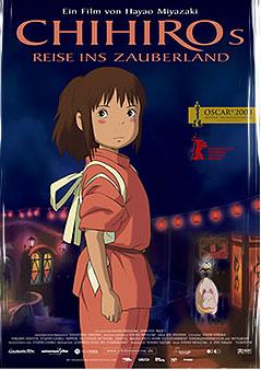 Filmplakat CHIHIROS Reise ins Zauberland