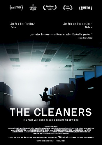 Filmplakat The Cleaners - Die digitale Säuberung