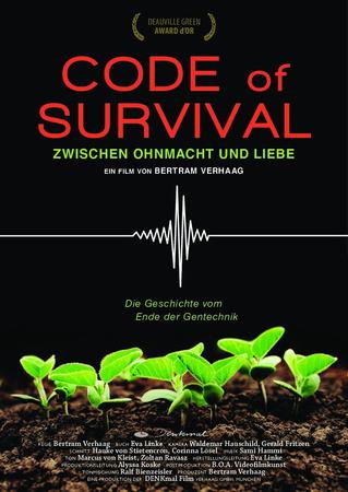 Filmplakat CODE OF SURVIVAL - Die Geschichte vom Ende der Gentechnik