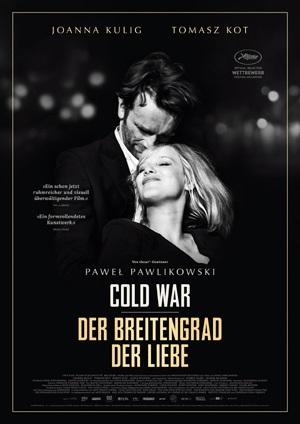 Filmplakat COLD WAR - Der Breitengrad der Liebe