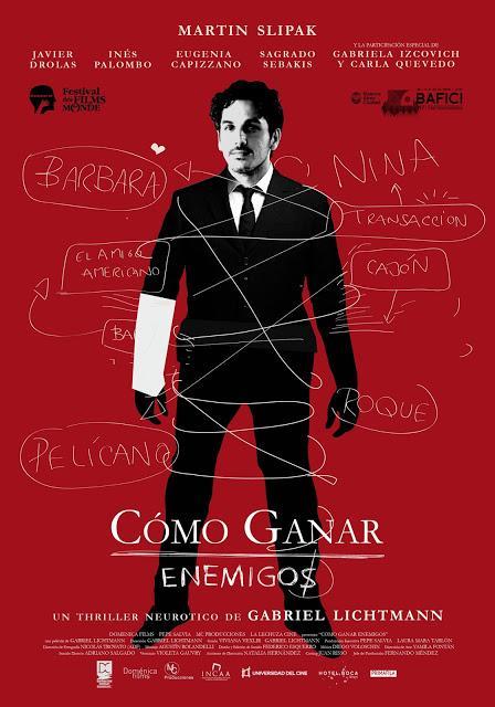 Filmplakat CINESPAÑOL: Como ganar enemigos - Wie man sich Feinde macht - span. OmU