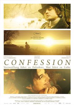 Filmplakat CONFESSION - Bekenntnis eines jungen Zeitgenossen