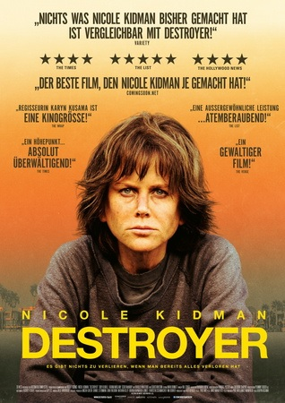 Filmplakat DESTROYER