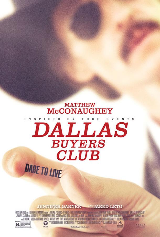 Filmplakat DALLAS BUYERS CLUB - engl. OmU
