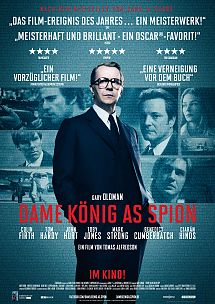 Filmplakat Dame, König, As, Spion (TINKER TAILOR SOLDIER SPY) - engl. OmU