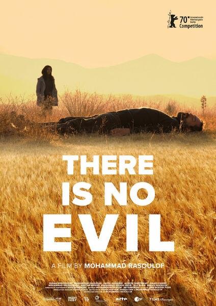 Filmplakat Doch das Böse gibt es nicht - Sheytan vojud nadarad - farsi. OmU
